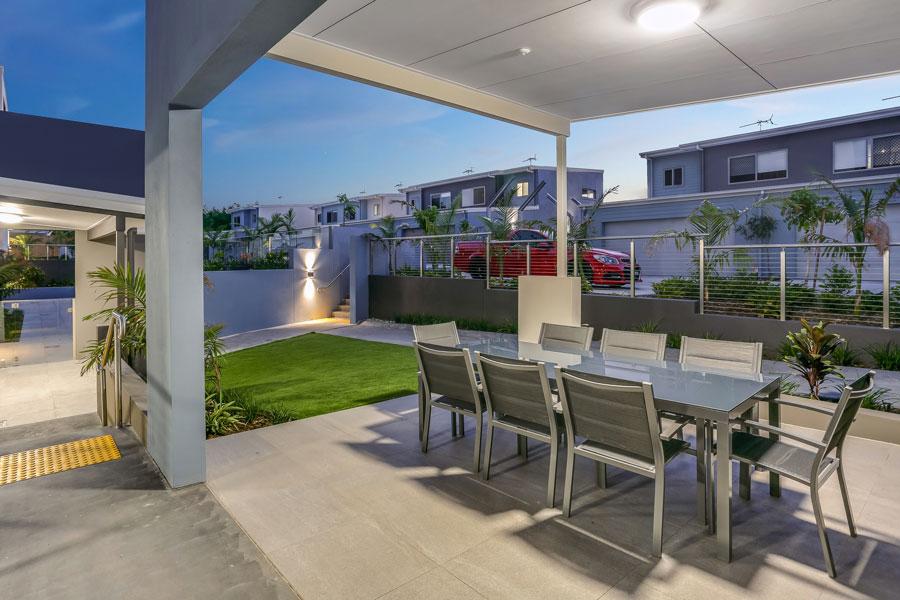 Grovely Terraces alfresco entertaining area